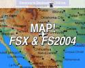 MAP! In-Flight Map for FSX & FS2004