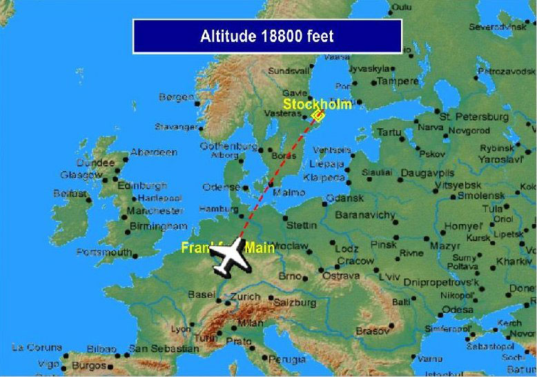 MAP InFlight Map for FSX FS2004 by feelthere