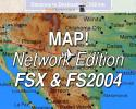 MAP! Network Edition In-Flight Map for FSX & FS2004