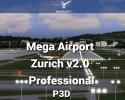 Mega Airport Zurich v2.0 Professional Scenery for P3D