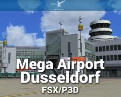 Mega Airport Dusseldorf Scenery for FSX/P3D