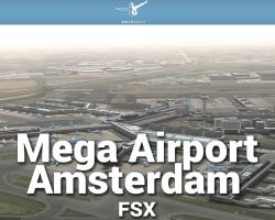 Mega Airport Amsterdam (Schiphol) X Scenery for FSX