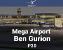 Mega Airport Ben Gurion Scenery for P3D