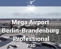 Mega Airport Berlin-Brandenburg Professional for P3D