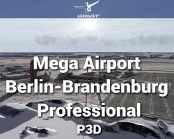 Mega Airport Berlin-Brandenburg Professional for P3Dv4