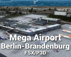 Mega Airport Berlin-Brandenburg X Scenery for FSX/P3D
