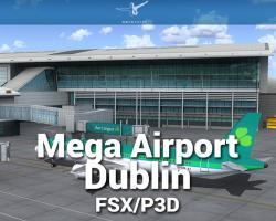 Mega Airport Dublin Scenery