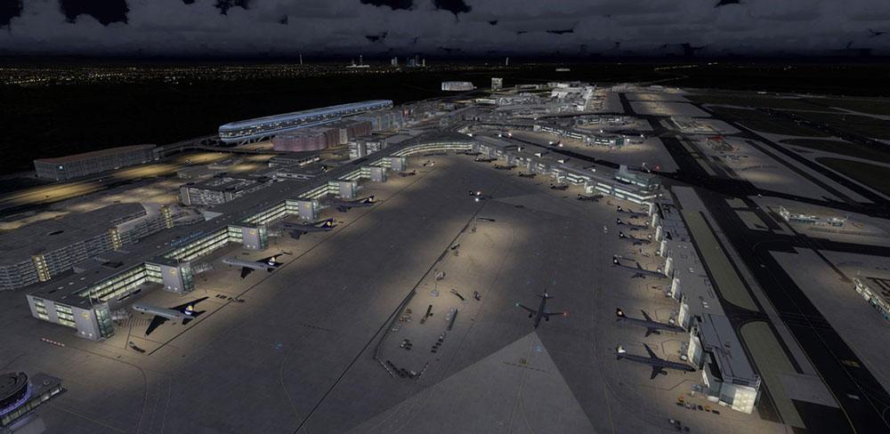 Mega Airport Frankfurt V2 0 Scenery for FSX/P3D