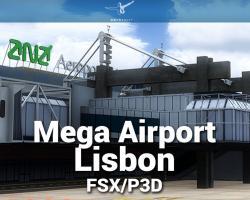 Mega Airport Lisbon V2.0 Scenery