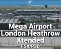 Mega Airport London-Heathrow Xtended Scenery for FSX/P3D