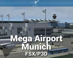 Mega Airport Munich Scenery