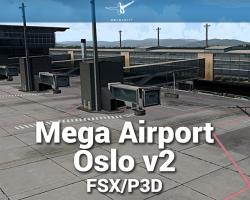 Mega Airport Oslo V2.0 Scenery for FSX/P3D