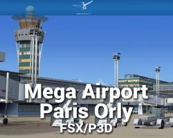 Mega Airport Paris Orly Scenery