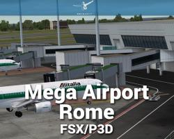 Mega Airport Rome Scenery for FSX/P3D