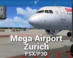 Mega Airport Zurich V2.0 Scenery for FSX/P3D
