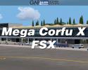 Mega Corfu X Scenery (LGKR) for FSX