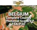 MegaSceneryEarth Belgium Complete Country Photoreal Scenery for FSX/P3D