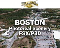 Boston Photoreal Scenery Ultra-Res Cities