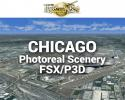 Chicago Photoreal Scenery Ultra-Res Cities for FSX/P3D
