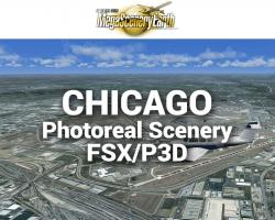 Chicago Photoreal Scenery Ultra-Res Cities
