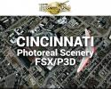 Cincinnati Photoreal Scenery Ultra-Res Cities for FSX/P3D