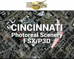 Cincinnati Photoreal Scenery Ultra-Res Cities