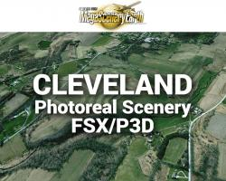 Cleveland Photoreal Scenery Ultra-Res Cities