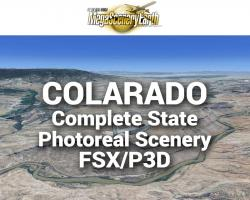 MegaSceneryEarth Colorado Complete State Photoreal Scenery