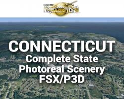 MegaSceneryEarth Connecticut Complete State Photoreal Scenery