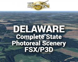 MegaSceneryEarth Delaware Complete State Photoreal Scenery