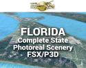 MegaSceneryEarth Florida Complete State Photoreal Scenery for FSX/P3D