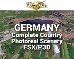 MegaSceneryEarth Germany Complete Country Photoreal Scenery