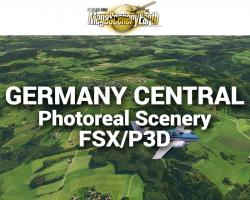 MegaSceneryEarth Germany Central Photoreal Scenery for FSX/P3D