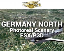 MegaSceneryEarth Germany North Photoreal Scenery