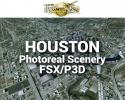 Houston Photoreal Scenery Ultra-Res Cities for FSX/P3D