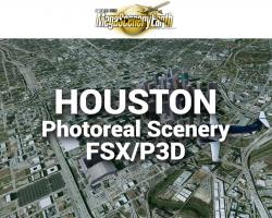 Houston Photoreal Scenery Ultra-Res Cities
