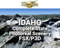 MegaSceneryEarth Idaho Complete State Photoreal Scenery for FSX/P3D