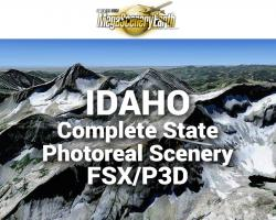 MegaSceneryEarth Idaho Complete State Photoreal Scenery