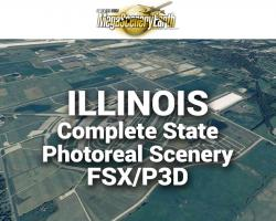 MegaSceneryEarth Illinois Complete State Photoreal Scenery