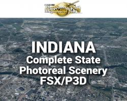 MegaSceneryEarth Indiana Complete State Photoreal Scenery