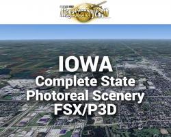 MegaSceneryEarth Iowa Complete State Photoreal Scenery