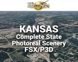 MegaSceneryEarth Kansas Complete State Photoreal Scenery