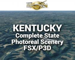 MegaSceneryEarth Kentucky Complete State Photoreal Scenery