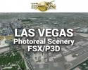 Las Vegas Photoreal Scenery Ultra-Res Cities for FSX/P3D