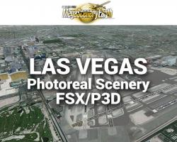 Las Vegas Photoreal Scenery Ultra-Res Cities