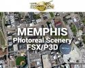 Memphis Photoreal Scenery Ultra-Res Cities for FSX/P3D