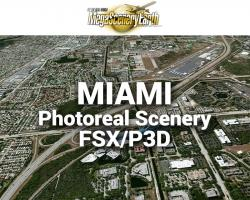 Miami Photoreal Scenery Ultra-Res Cities
