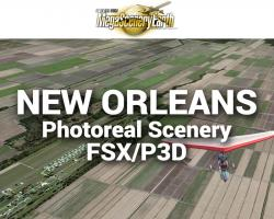 New Orleans Photoreal Scenery Ultra-Res Cities