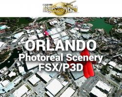 Orlando Photoreal Scenery Ultra-Res Cities for FSX/P3D