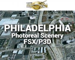 Philadelphia Photoreal Scenery Ultra-Res Cities for FSX/P3D